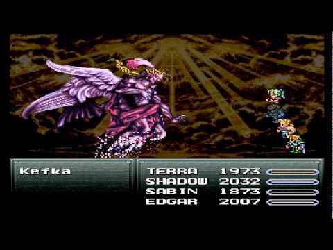 Final Fantasy VI (Ultimo chefe + final)