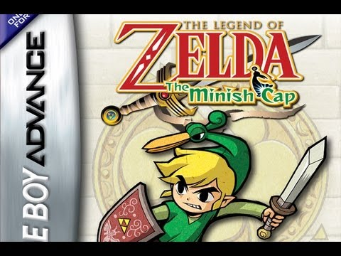 CGRundertow THE LEGEND OF ZELDA: THE MINISH CAP for Game Boy Advance Video Game Review