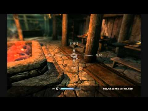 Skyrim - Playable Flute, Lute and Drum - Play and Bash Mod