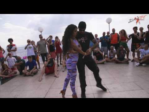 Renato + Bruna - Zouktime Dance Holiday Croatia 2016 - Rock With It - Zouk Demo