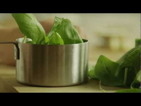 How to Make Basic Pesto