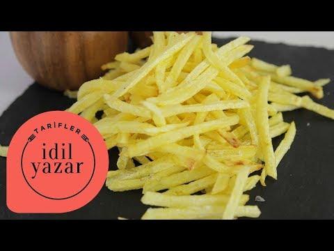 Patates Kızartması Nasıl Yapılır ? - İdil Yazar - Yemek Tarifleri - How to make Crispy French Fries