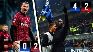 LA RIMONTA NERAZZURRA | Inter 4-2 Milan