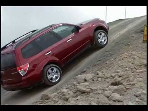 Subaru AWD Uphill Comparison Test