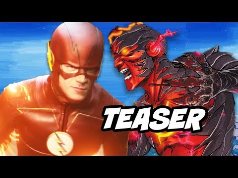 The Flash Season 4 Secret Powers and Wally West Legends of Tomorrow Teaser thumbnail