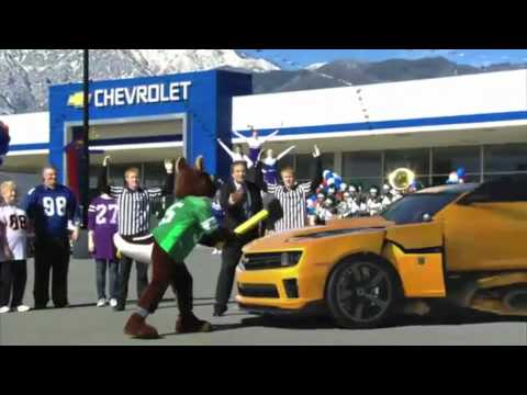 Chevrolet and Transformers 3 Superbowl commercial: slow motion