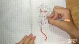 [ Speed Drawing ] Anime girl student/chuyên mục vẽ vời~Yuki_chan