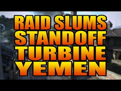 BO2 Tips and Tricks: Raid, Slums, Standoff, Turbine, and Yemen Bomb Plant Spots (Black Ops 2)