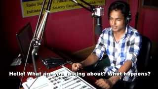 short film ''jibon tori community radio