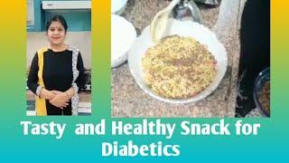 Tasty and Healthy, Low Cal Snack for Diabetics #HealthyRecipes #LowCalorieSnack #SnacksforDiabetics