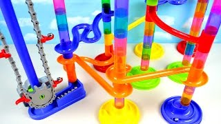 Kids Learning Colors with Imaginarium Motorized Marble Maze Run Race Toy