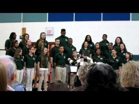 Louisa County Middle School Chorus 2-12-13