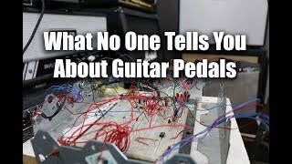 """What no one tells you about Guitar Pedals & """"clone"""" circuits"""