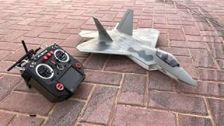 F22 50mm EDF Maiden Flight