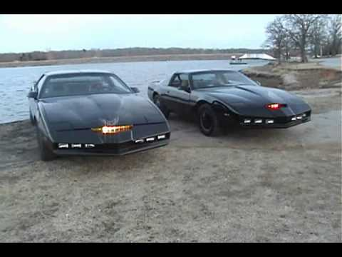 Knight Rider Cars Ii - Kitt Vs Karr - Again.wmv video