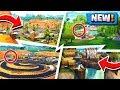 *ALL* Fortnite New LOCATIONS! | Season 5 Map Changes! ( Secret Spots )