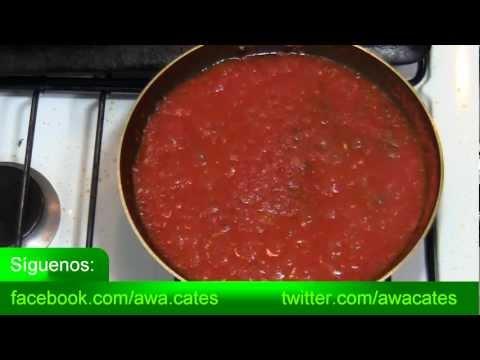 Salsa para Pizza Casera, Como Hacer Salsa para Pizza, Salsa de Tomate para Pizza