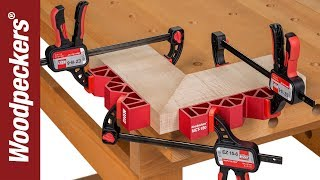The Easy Way To Clamp Miter Joints | Miter Clamping Tool