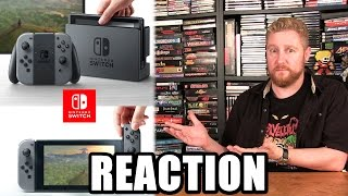 NINTENDO SWITCH REACTION! - Happy Console Gamer
