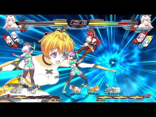 Руководство запуска: Nitroplus Blasterz Heroines Infinite Duel по сети
