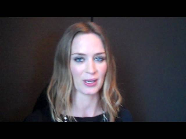 Emily Blunt - Which Actor Made You Raise Your Own Game?