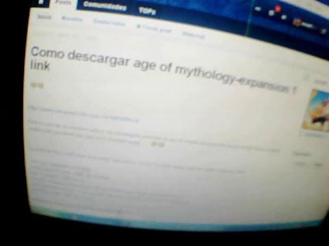 Como Descargar El Age Of Mythology