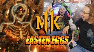 EVERYONE IS DEAD - Tons Of Easter Eggs: Mortal Kombat 11