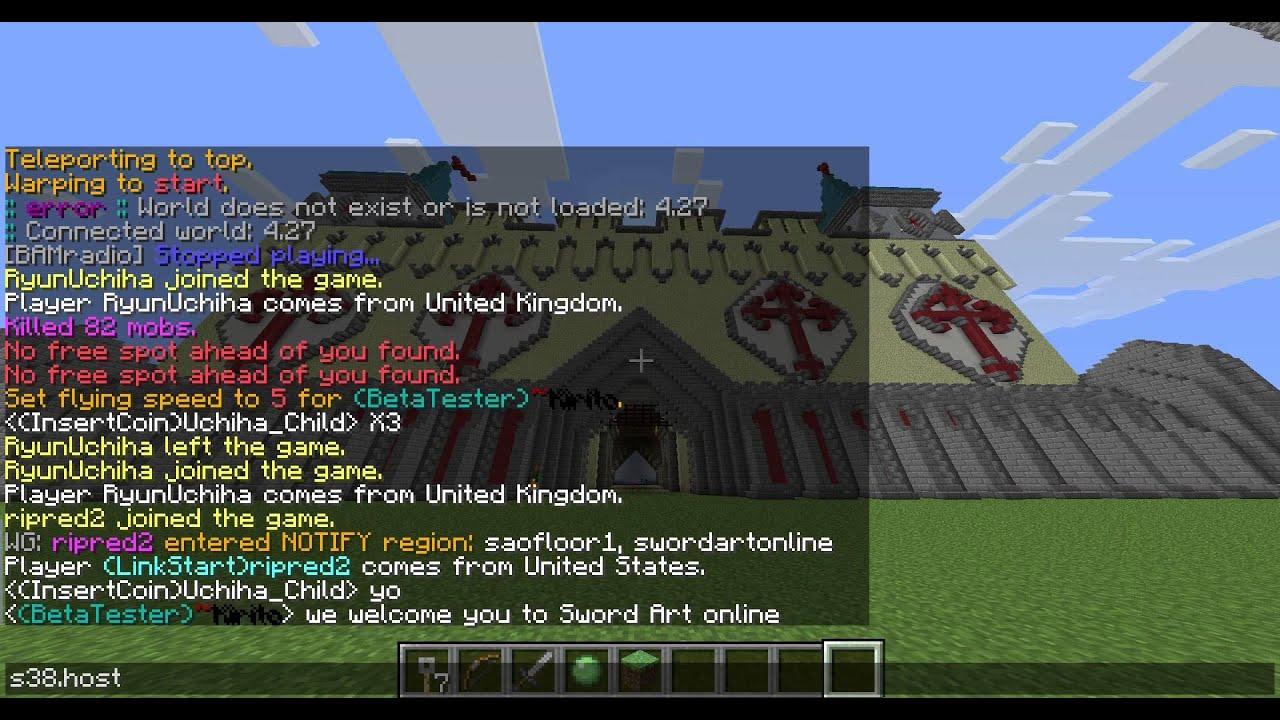 Minecraft Server Knights