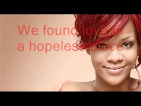 Rihanna - We found love (paroles + traduction)