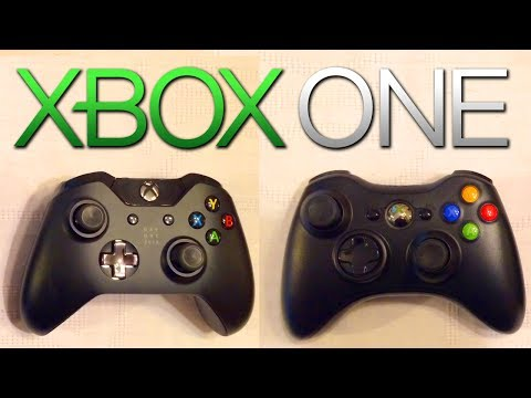 XBOX ONE controller vs Xbox 360! - NEW Day 1 Edition Controller Review! - (Microsoft 2013 HD)