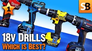 18 Volt Combi Drills Review - Which is best in test?