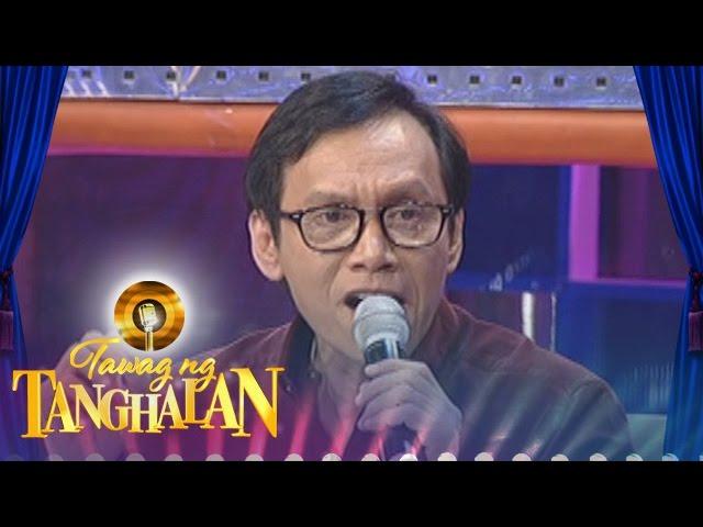 """Tawag ng Tanghalan: Rey Valera gives new twist to """"Kung Kailangan Mo Ako"""""""
