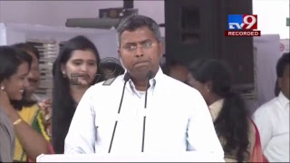 CM Chandrababu Dharma Porata Deeksha || AP Special Status || LIVE - Telugu