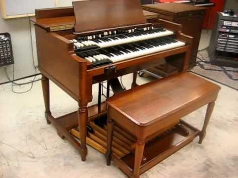 1950 Hammond B2 Organ Youtube
