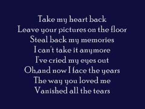 Take My Heart Back- Jennifer Love Hewitt W  Lyrics video