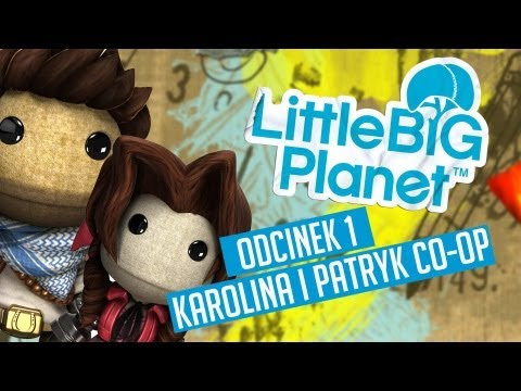#1 Zagrajmy w Little Big Planet Co op Poziom: First Steps Get a Grip Skate to Victory PL