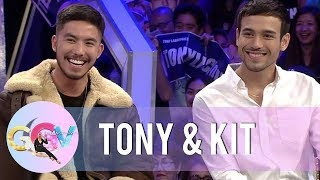 Tony and Kit prove to fans that they smell good | GGV