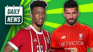 TRANSFER NEWS: Kingsley Coman to Arsenal & Liverpool Transfer Update ►  Daily Football News