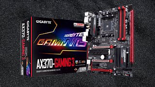 Unboxing GIGABYTE GA-AX370-Gaming K3 AM4 Motherboard