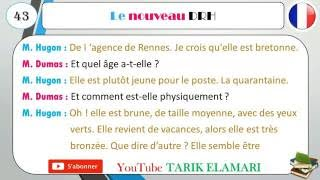dialogue en français 43 #blague #question