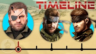 The Complete Metal Gear Solid Timeline (Pt. 1) - Rise of Big Boss ft. David Hayter | The Leaderboard