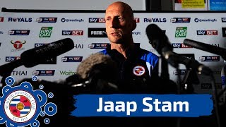 Play-Off Final Press Conference: Jaap Stam