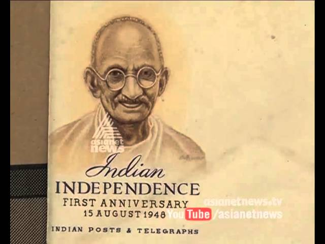 Arvind's rare collection of Gandhi stamps
