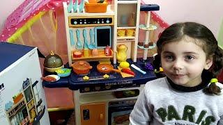 مطبخ أطفال صغار مع لجين وحمود😎 Children's kitchen with Lujain and Hammoud