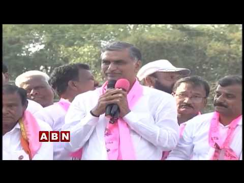 Harish Rao address at Public Meeting | Narsapur | ABN Telugu