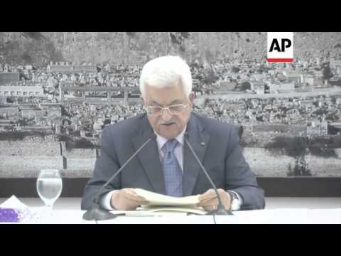 Abbas on Israeli aggression and conditions for ceasefire; night explosions in Shijaiyah