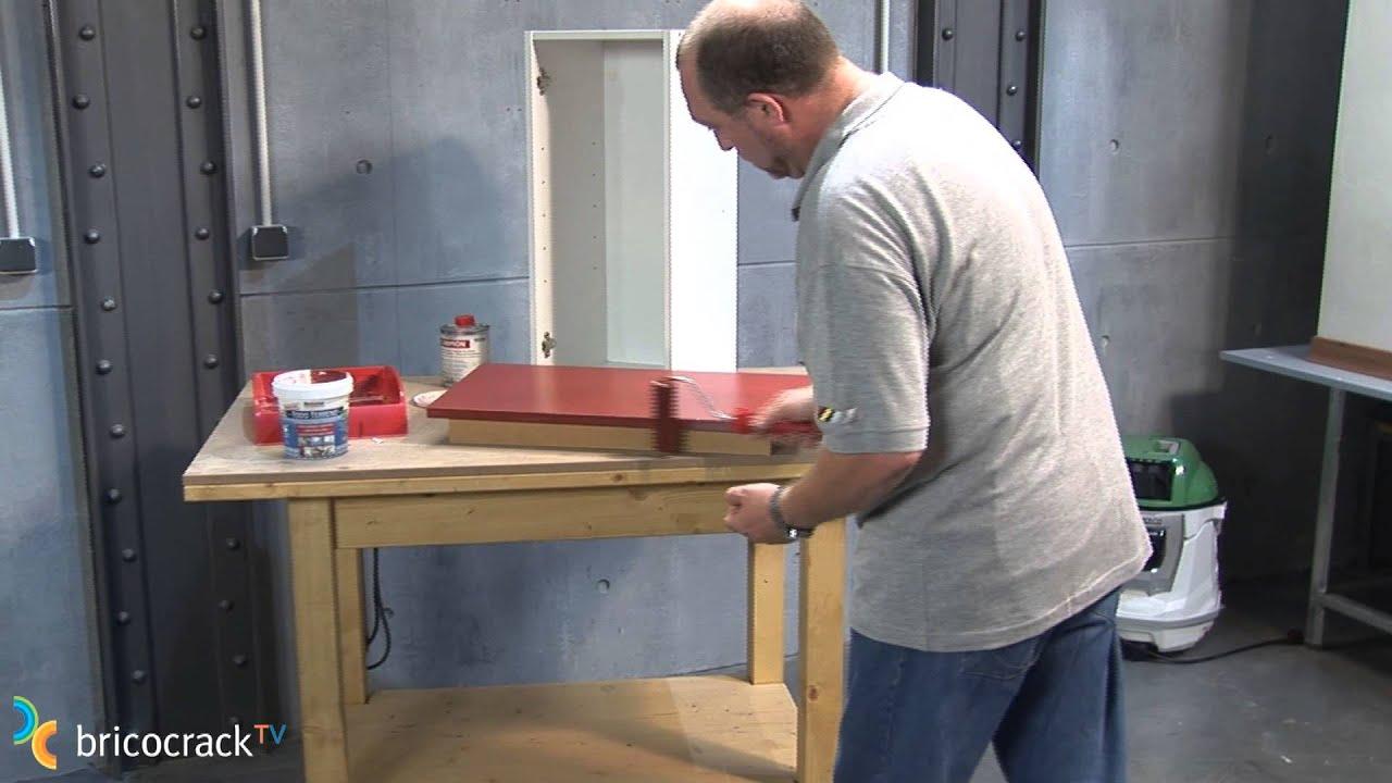 Pintar superficies dif ciles bricocracktv youtube for Como pintar puertas de sapeli