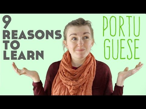 9 Reasons to Learn Portuguese║Lindsay Does Languages Video