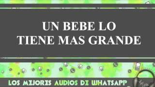 Un Bebe Lo Tiene Más Grande - Conversaciones De Whatsapp - Los Mejores Audios Y Videos Whatsapp