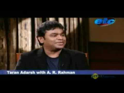 A. R. RAHMAN IN A MUST SEE INTERVIEW!!! Read description!!!